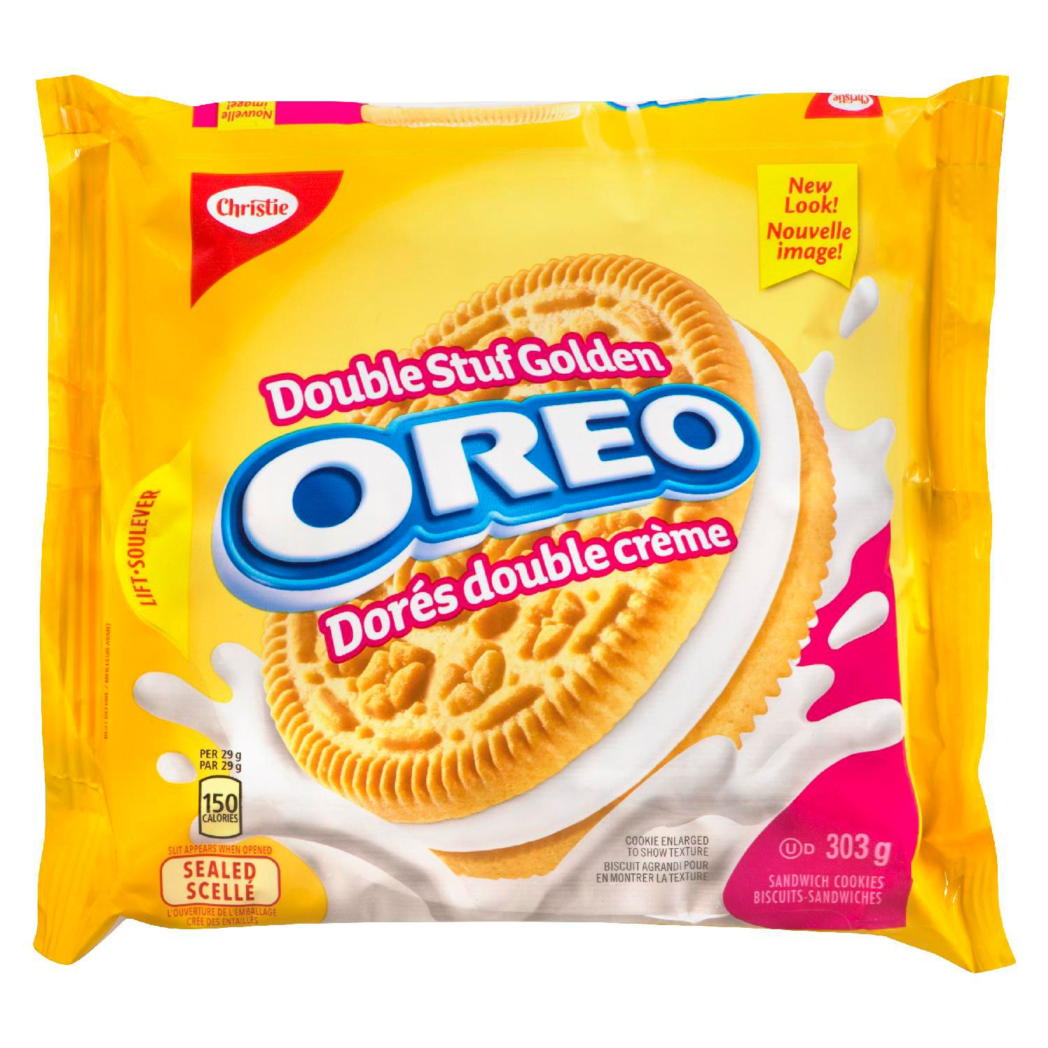 Oreo Double Stuf Golden Cookies 303 G