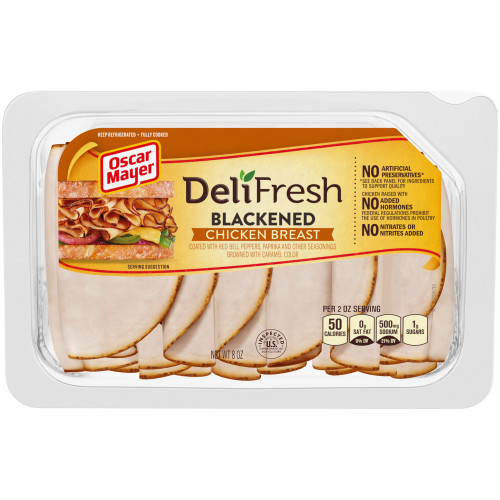 Oscar Mayer Deli Fresh Blackened Chicken Breast Tray, 8 oz