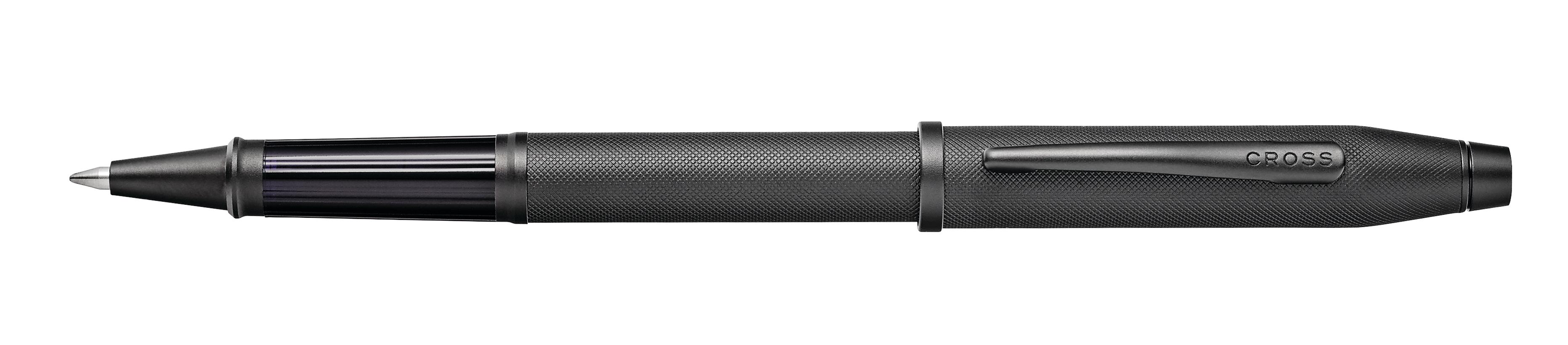 Century II Black Micro-knurl Rollerball Pen