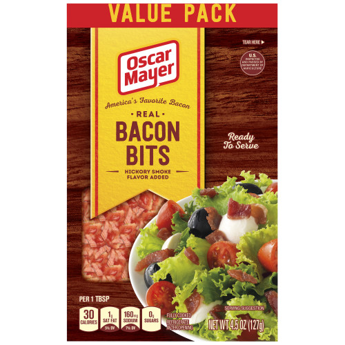 Oscar Mayer Bacon Bits Pouch, 4.5 oz