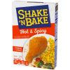 Kraft Shake 'n Bake Hot & Spicy Seasoned Coating Mix, 4.75 oz Box