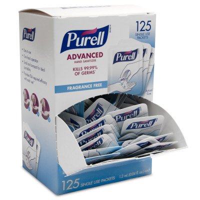 PURELL® Advanced Hand Sanitizer Single Use - DISCONTINUED