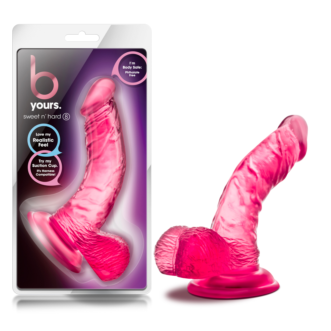 B Yours - Sweet n' Hard 8 - Pink