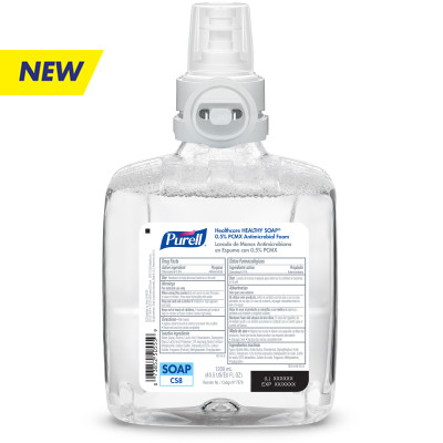 PURELL® Healthcare HEALTHY SOAP® 0.5% PCMX Antimicrobial Foam