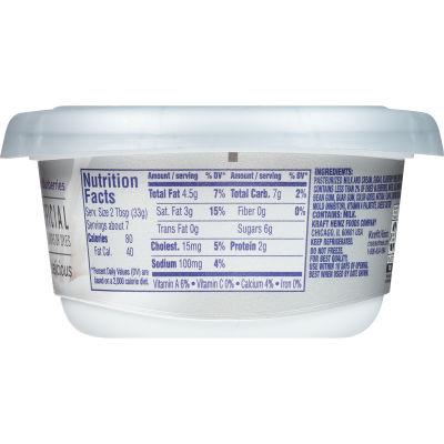 Philadelphia Blueberry Cream Cheese Spread 7.5 oz Tub