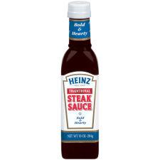 Heinz Traditional Steak Sauce 10 oz Bottle