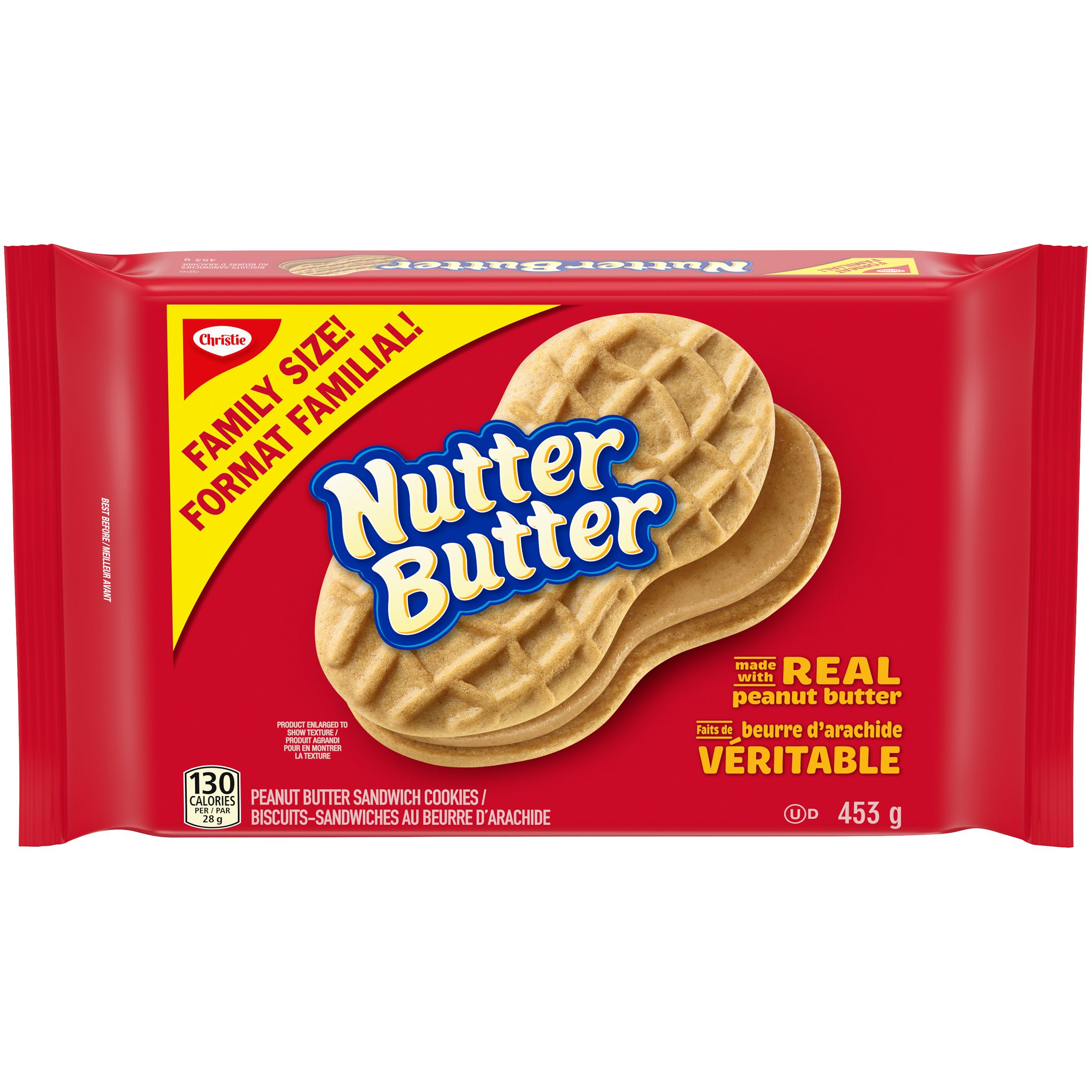 Nutter Butter Biscuits-Sandwiches 453 G