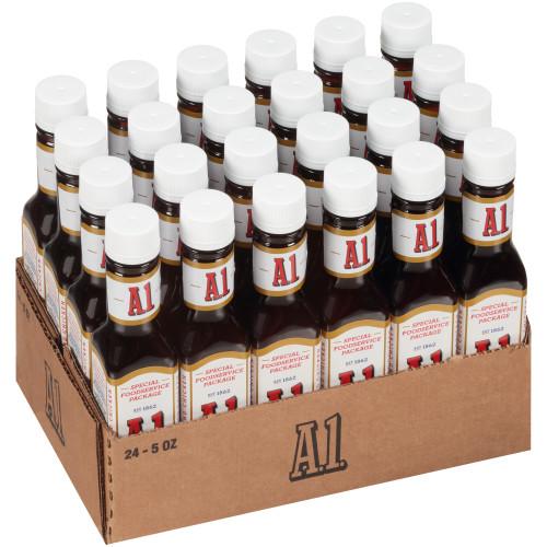 A.1. Steak Sauce, 5 oz. Bottle (Pack of 24)