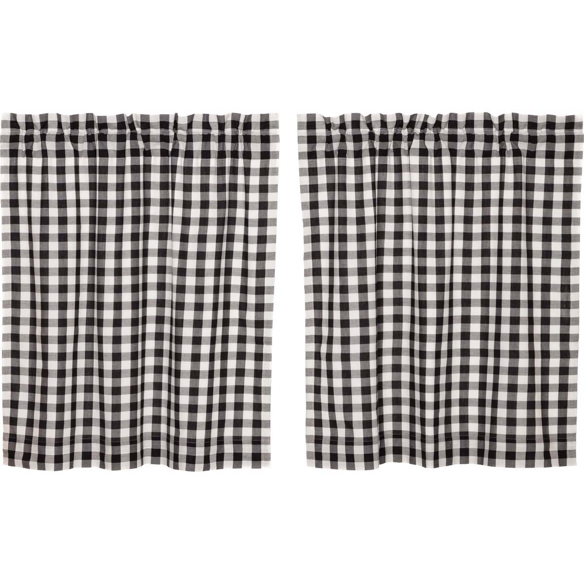 Annie Buffalo Black Check Tier Set of 2 L36xW36