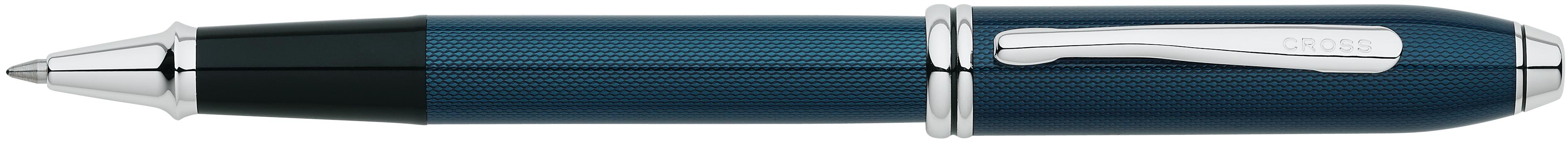 Townsend® Quartz Blue Lacquer Rollerball Pen