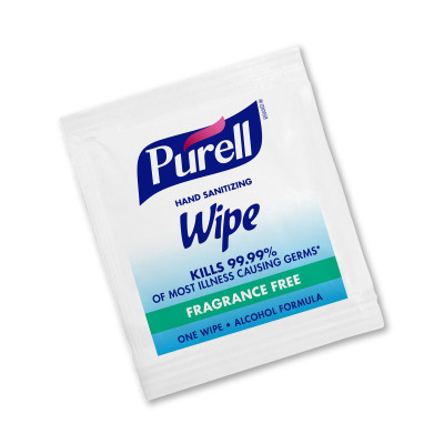 PURELL® Hand Sanitising Wipes Alcohol Formula