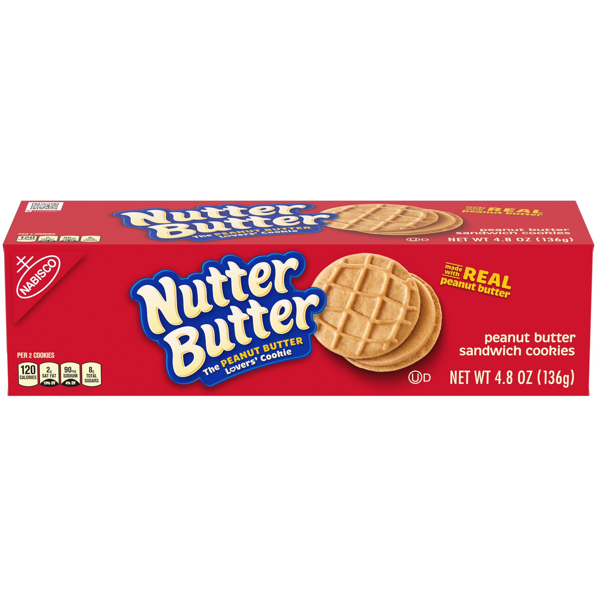 NUTTER BUTTER Supermix Cookies 4.8 oz