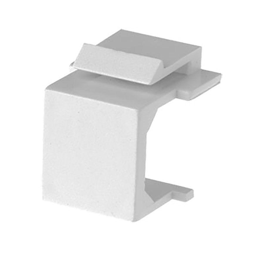 White Blank Keystone Insert Wave Electronics