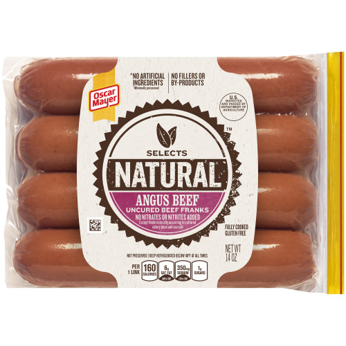 Oscar Mayer Selects Angus Beef Franks, 14 oz