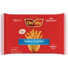 Ore-Ida Golden Crinkles French Fried Potatoes 8 lb Bag
