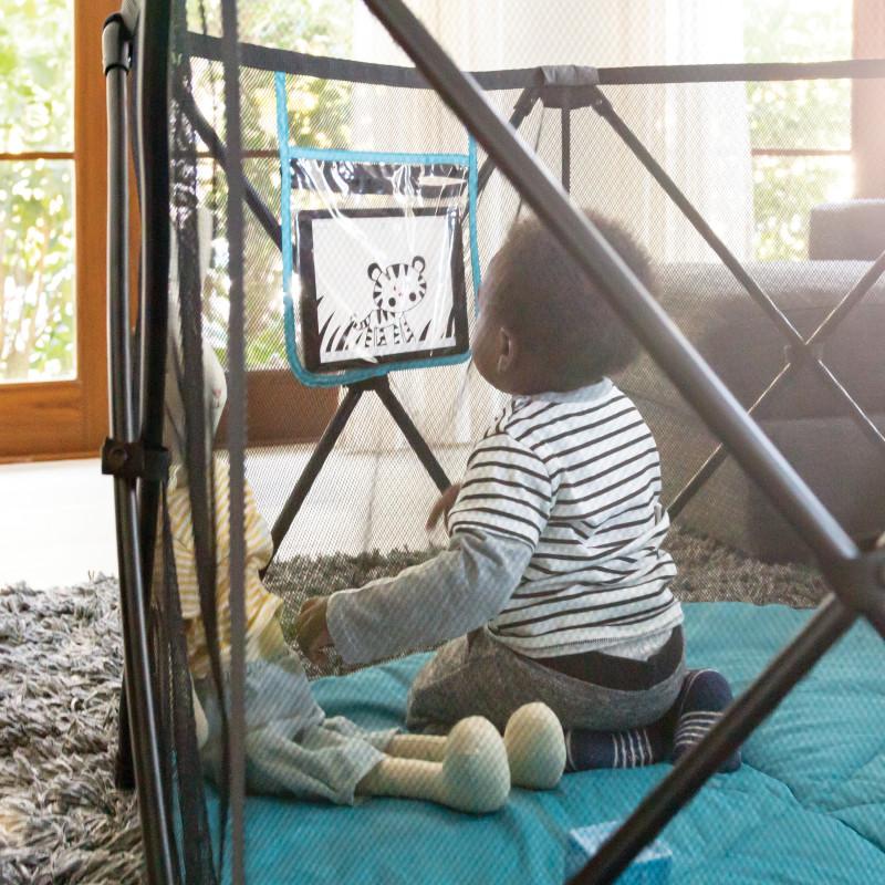 Play-Away™ Portable Playard (Cedar Grove) Lifestyle Photo