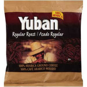 YUBAN Regular Roast & Ground Coffee, 7 oz. Pouches (Pack of 19) image