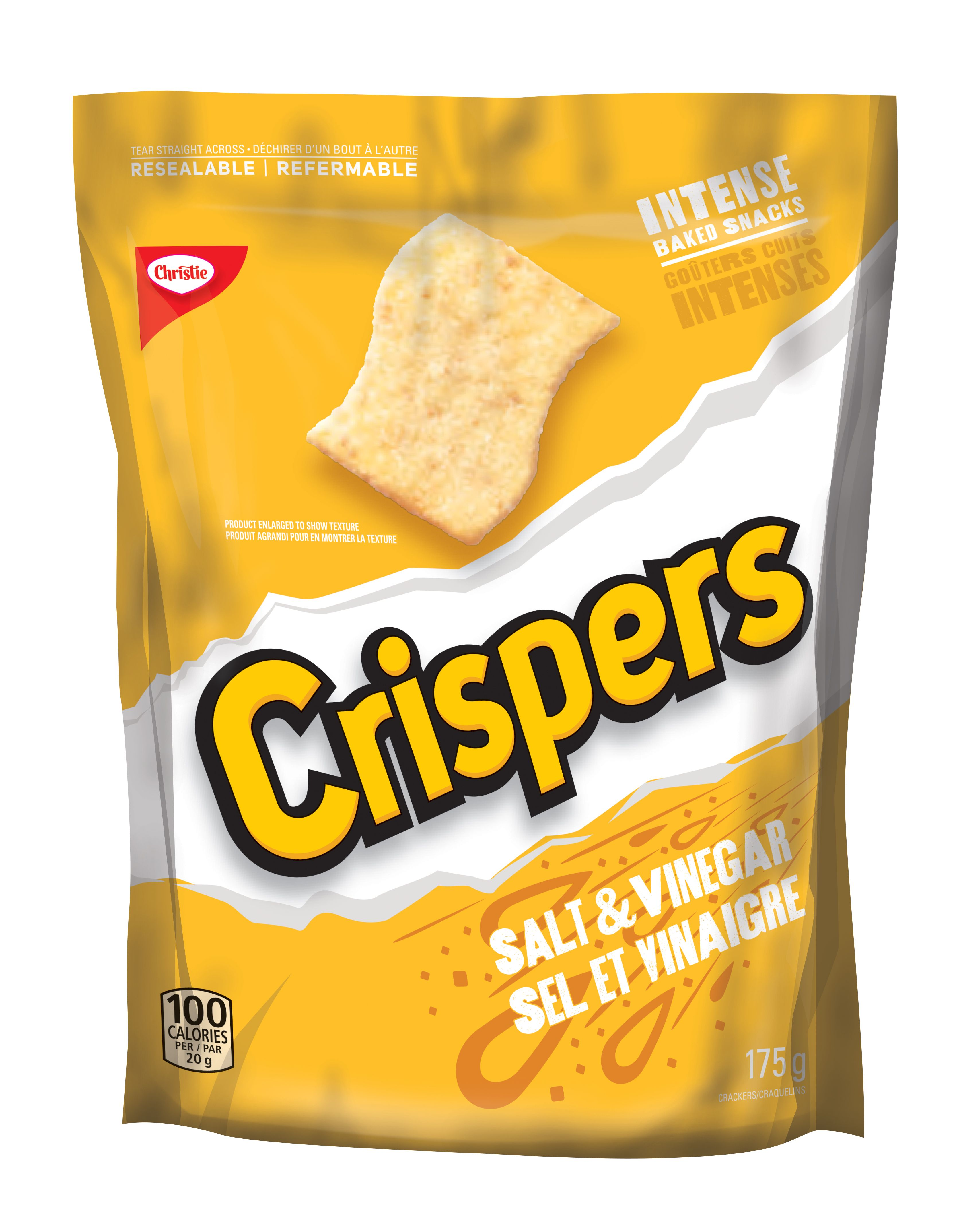 CRISPERS  SALT AND VINEGAR 175 GRM