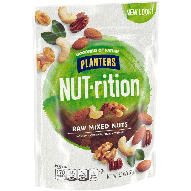 PLANTERS Raw Mixed Nuts 5.5 oz Bag