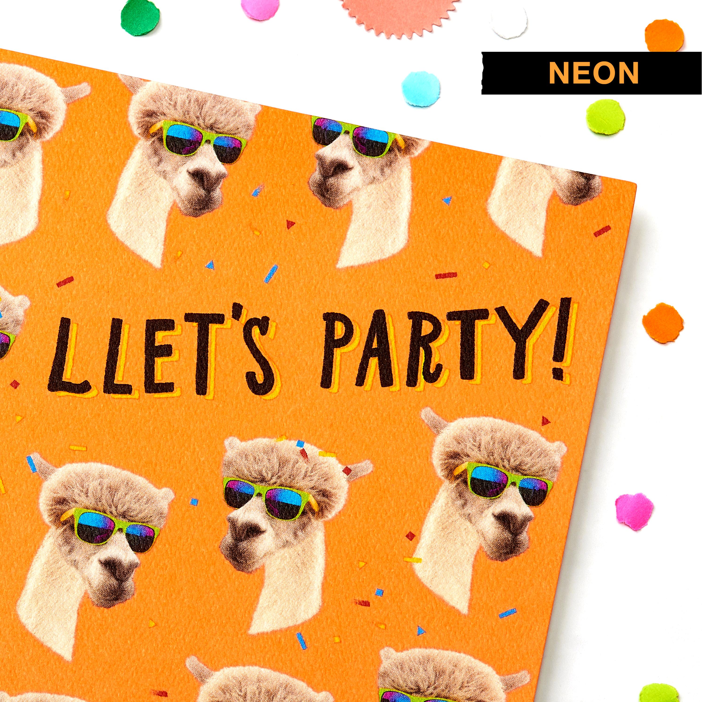 Llamas Greeting Card - Birthday, Thinking of You, Congratulations image