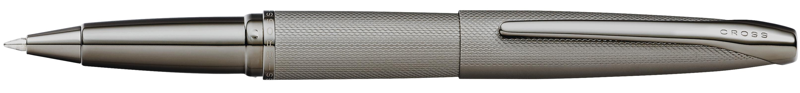 ATX Sandblasted Titanium Gray Rollerball Pen