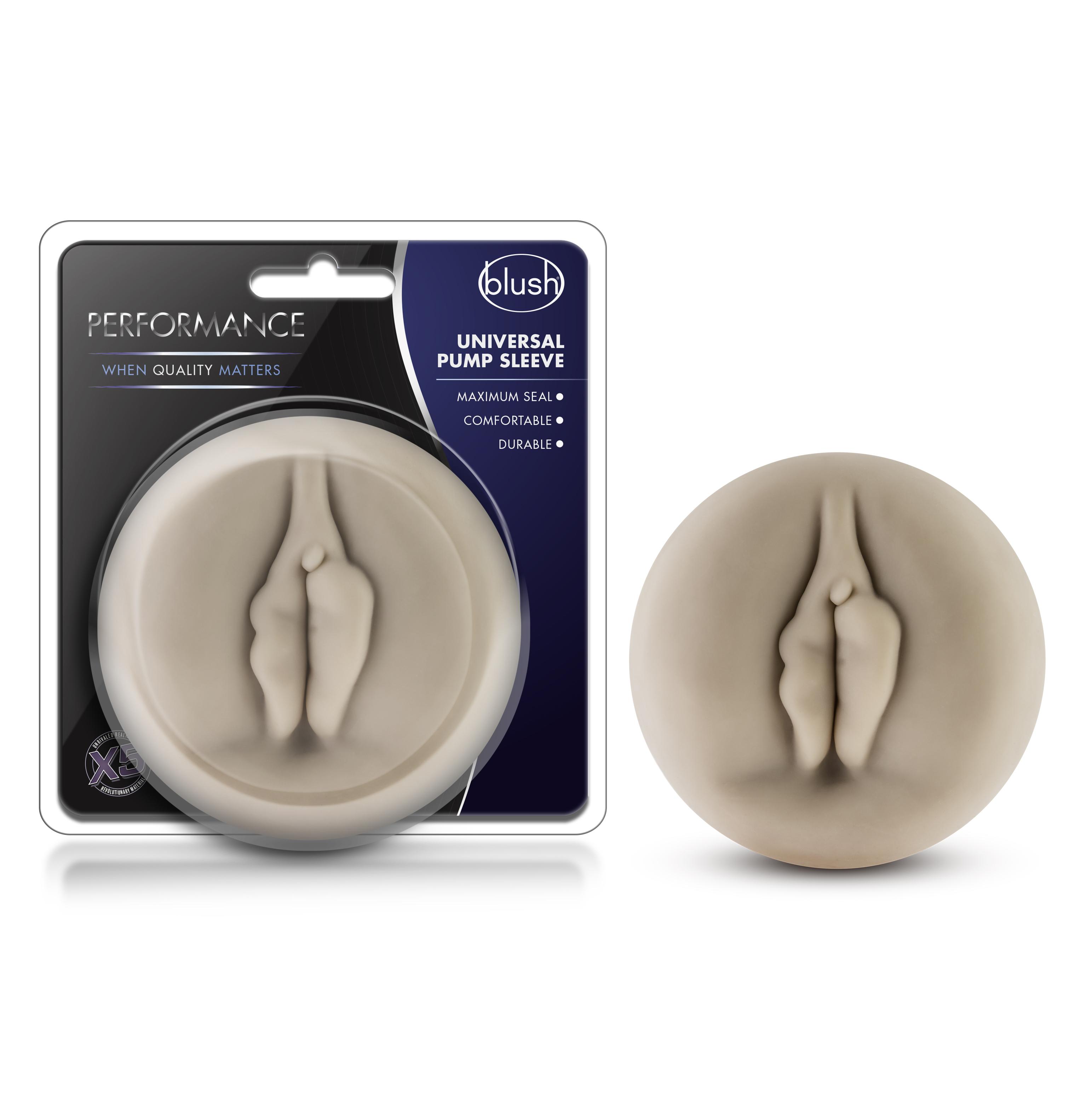 Performance - Universal Pump Sleeve - Vagina - Beige