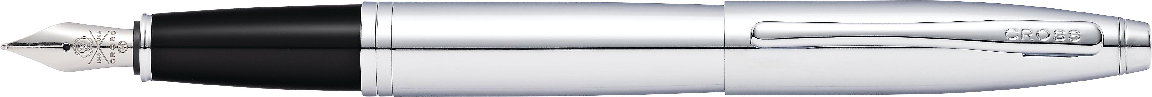 Calais Polished Chrome Fountain Pen