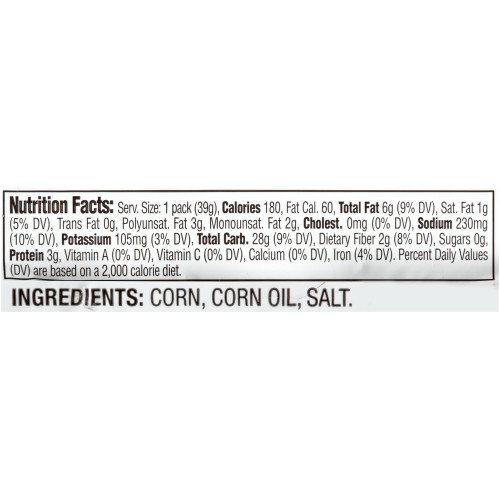 CORNNUTS Original Crunchy Corn Kernels, 1.4 oz. Single Serve (Pack of 144)