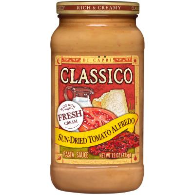 Sun-Dried Tomato Alfredo