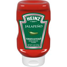 Heinz Jalapeno Tomato Ketchup 14 oz Bottle image