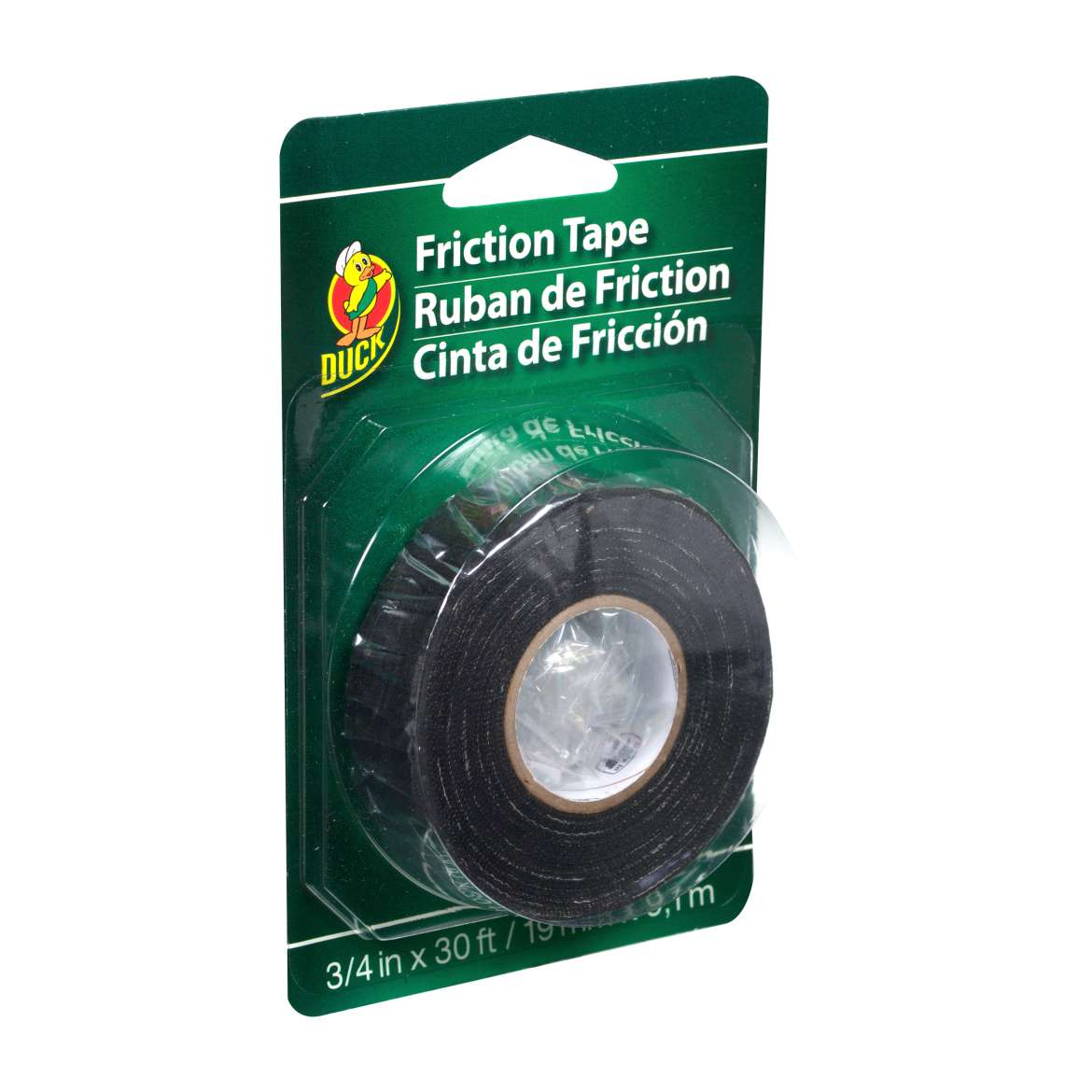 Duck® Brand Friction Tape - Black, .75 in. x 30 ft. Image