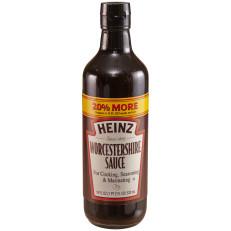 Heinz Worcestershire Sauce 18 fl oz Bottle image