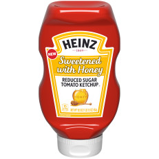 Heinz Sweetened with Honey Ketchup (19.5 oz.) image