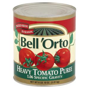 Bell'Orto Heavy Tomato Puree Tin, 6.10 lb. image