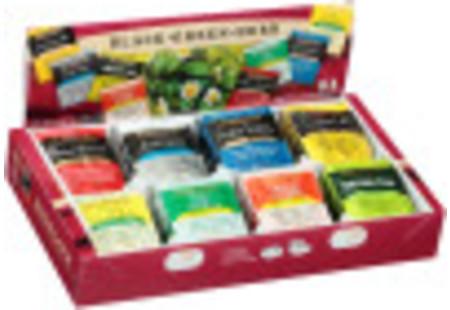 Fine Tea & Herbal Tea Assortment - Total of 64 teabags