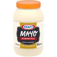 Kraft Mayo Home-style Mayonnaise, 30 fl oz Jar
