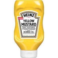 Heinz Yellow Mustard, 20 oz Bottle image