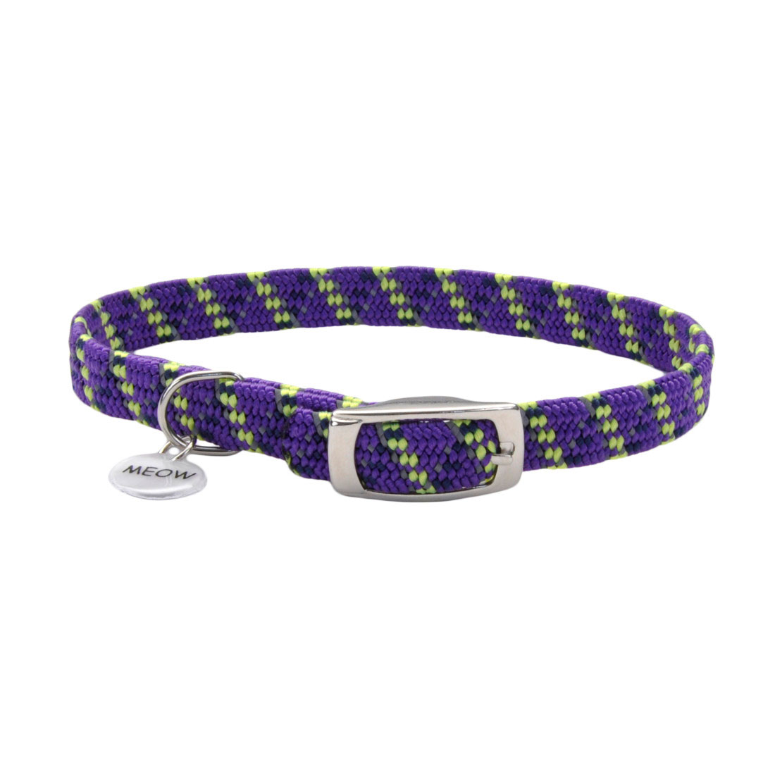 ElastaCat® Reflective Safety Stretch Collar with Reflective Charm