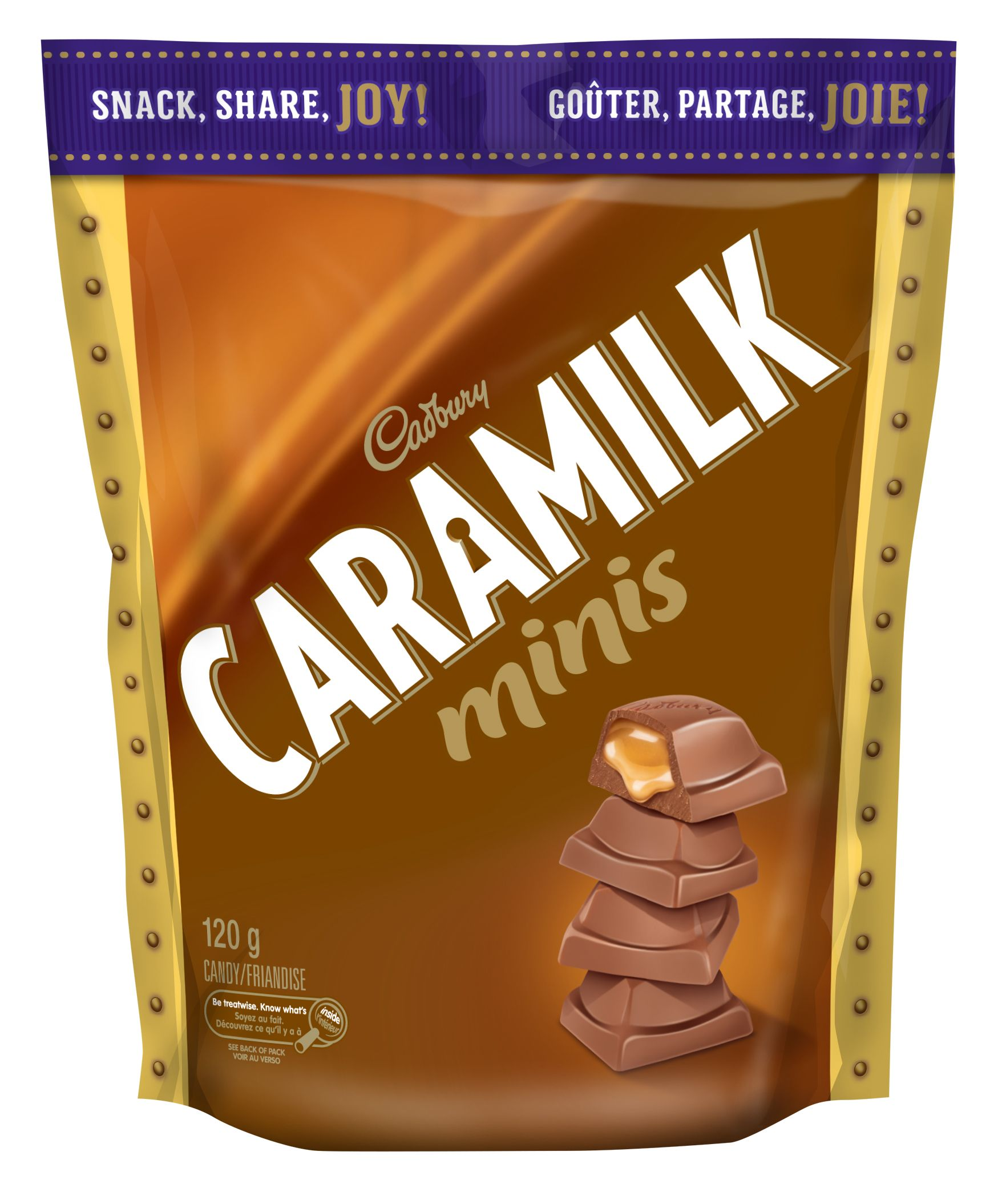 Caramilk Minis Chocolate Pieces 120 G