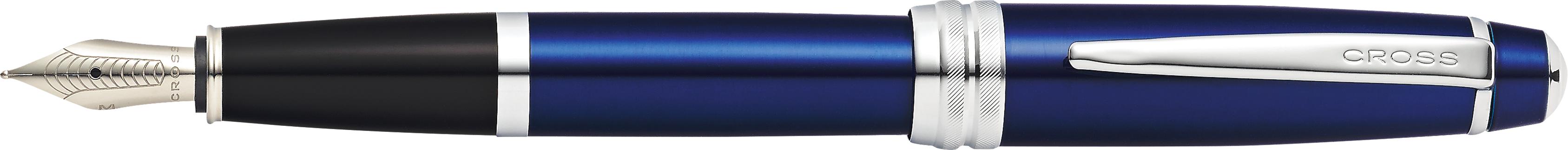 Bailey Blue Lacquer Fountain Pen