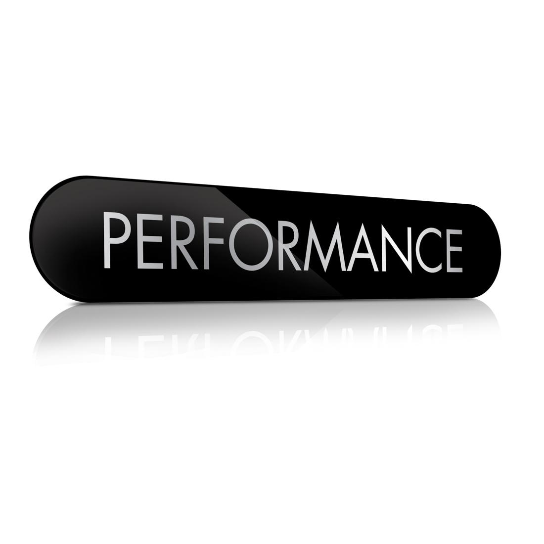 Performance - Slatwall Sign