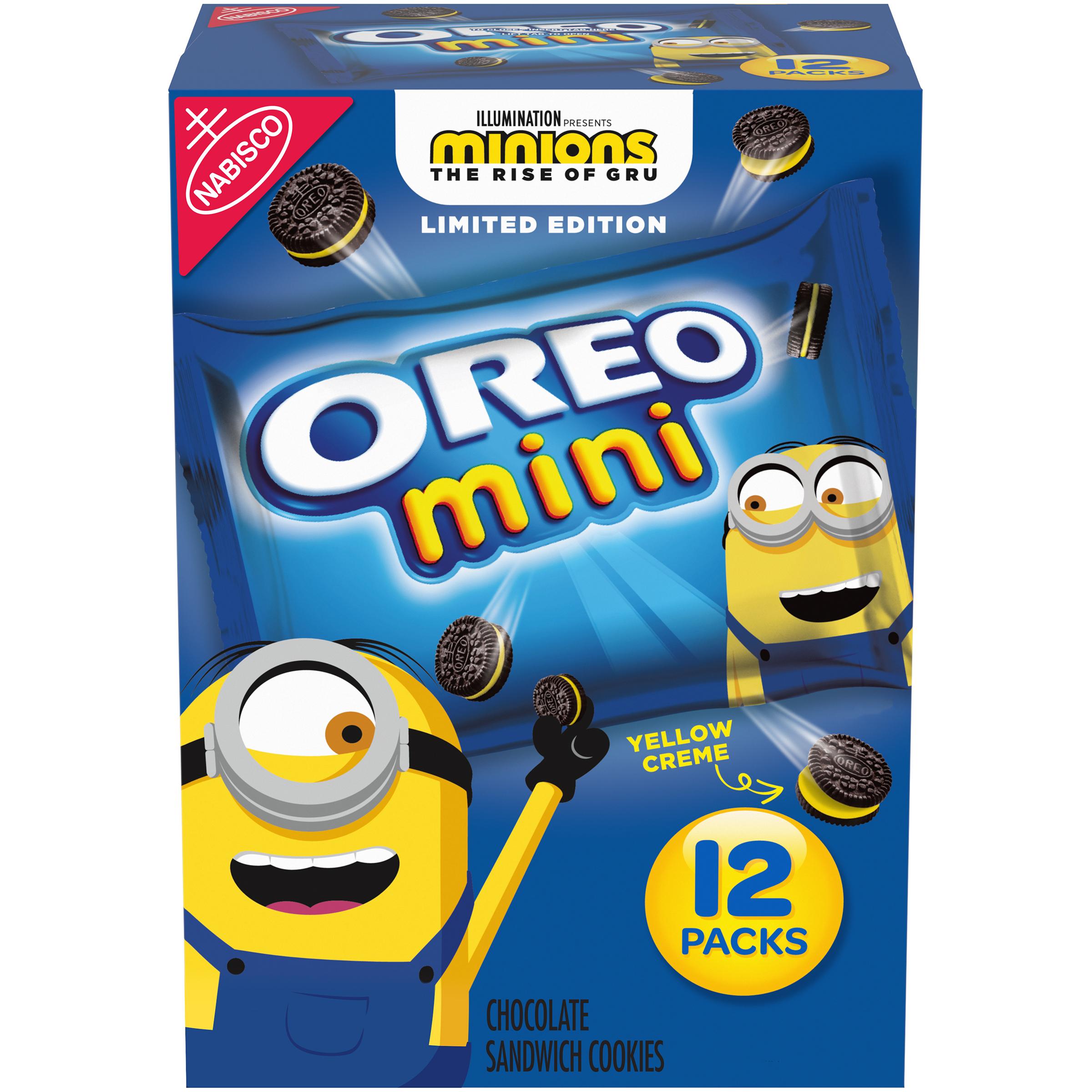 OREO Mini Minions Cookies 12 oz