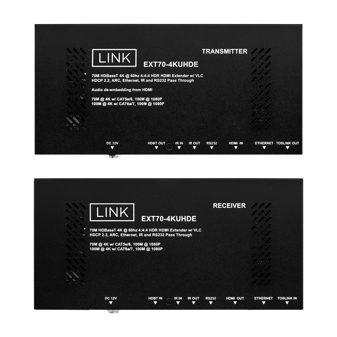 70M HDBaseT 4K HDMI Extender w/VLC Wave Electronics