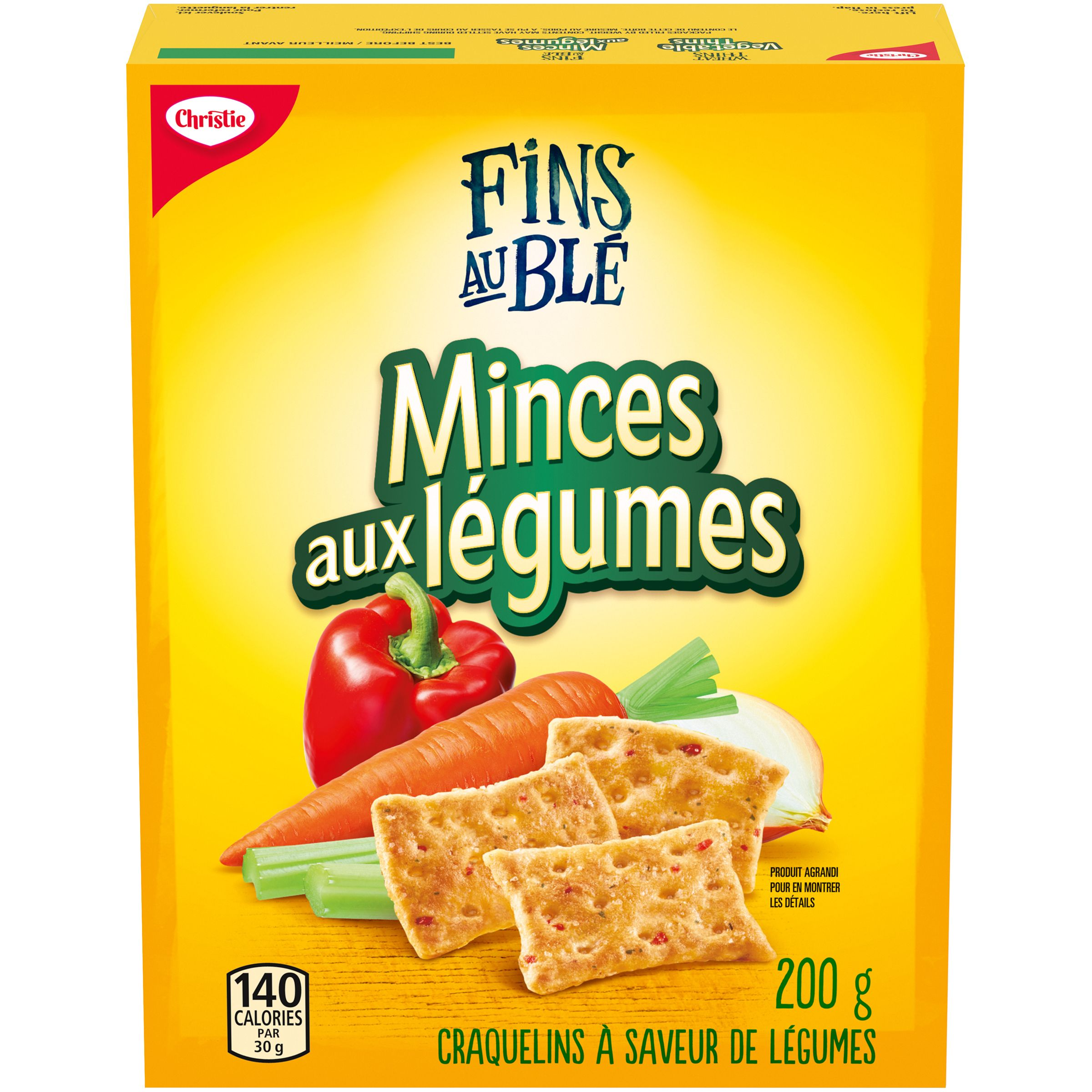 Wheat Thins Vegetable Thins Crackers 200 G