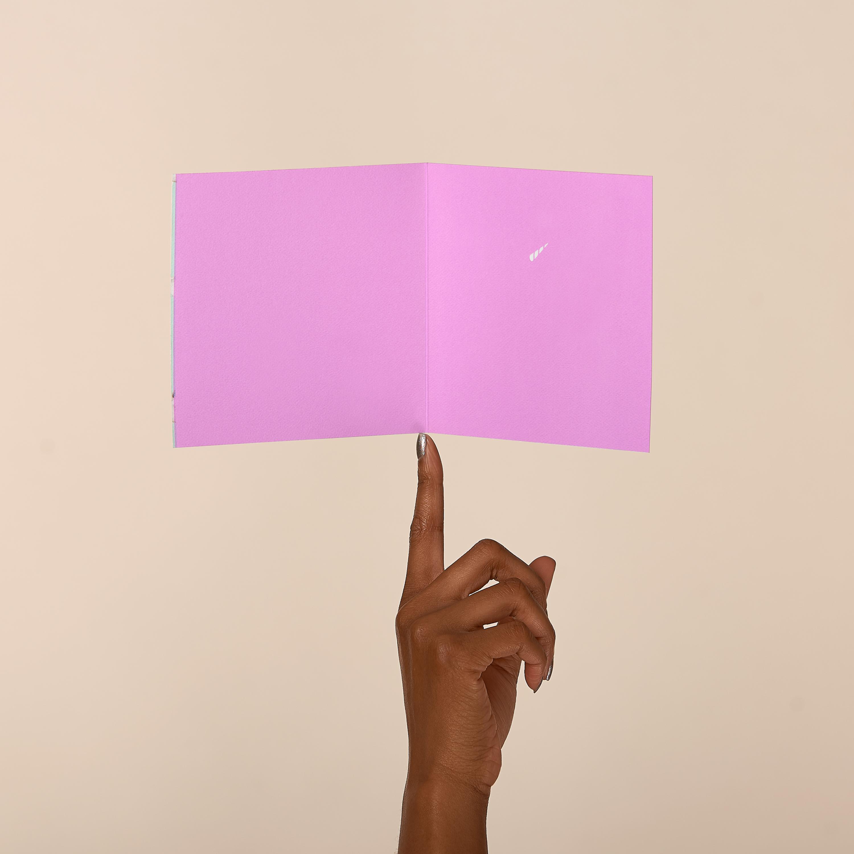 Unicorns Blank Greeting Card - Birthday, Friendship, Thinking of You image