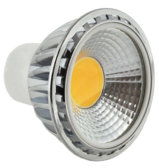 Light Bulbs & Illuminants GU10 LED Spotlight Bulb 5W (50W Equivalent) 330 Lumen Extra Wide Beam Angle - Cool White