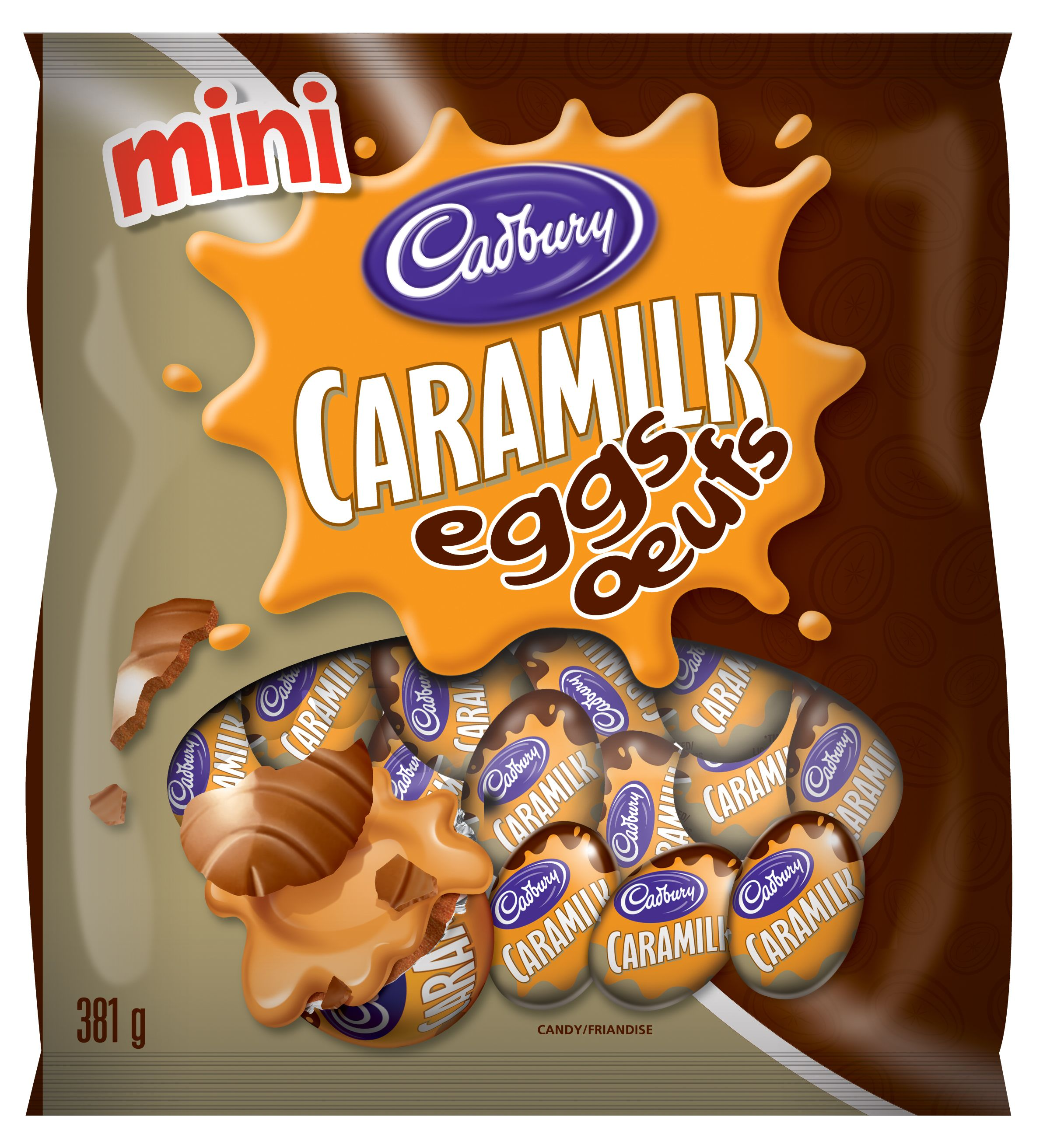 CARAMILK  MINI EGGS 381 GRM