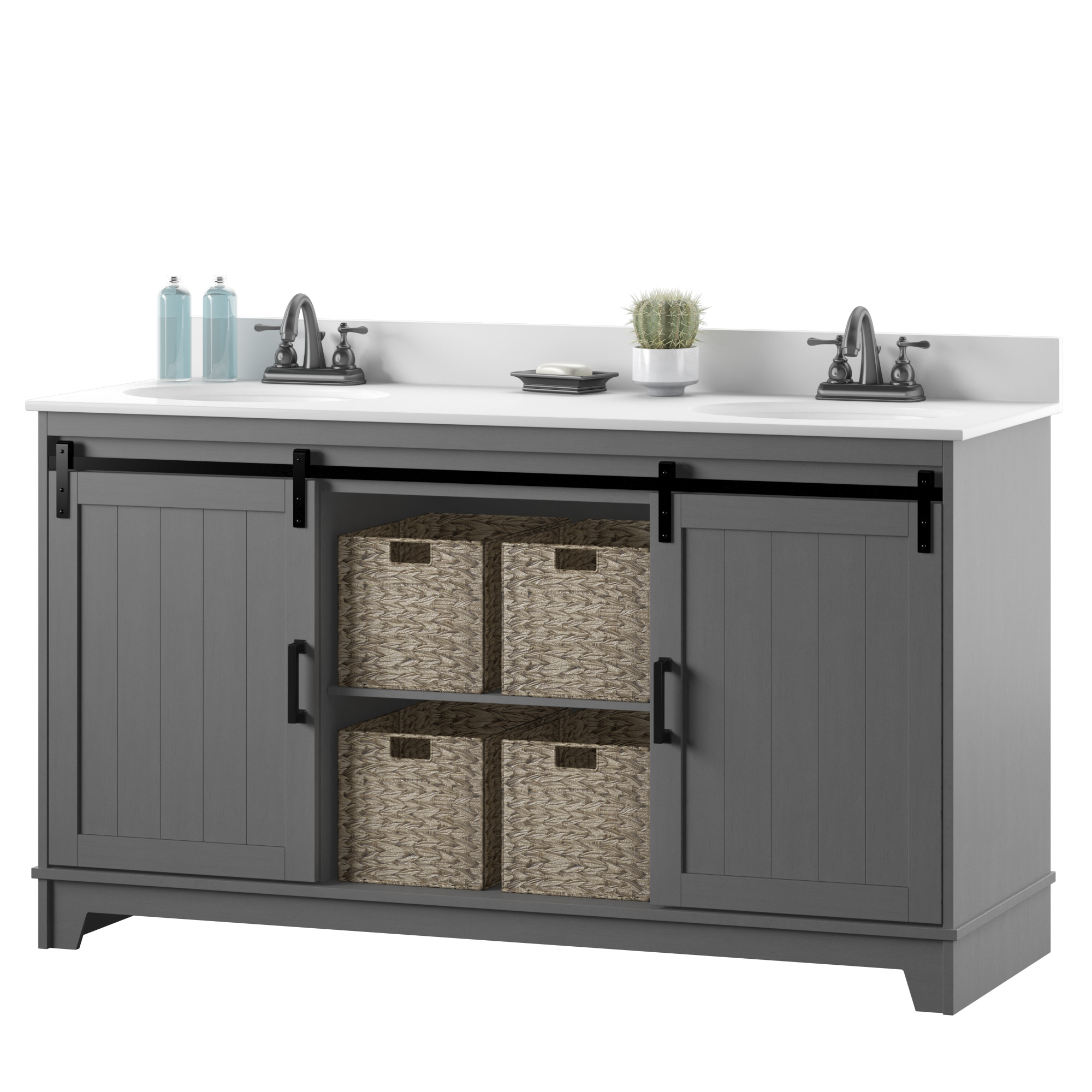 Propped :: Antique Gray
