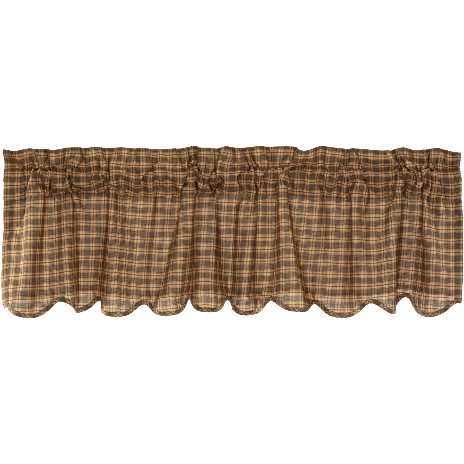 Cedar Ridge Valance Scalloped 16x60