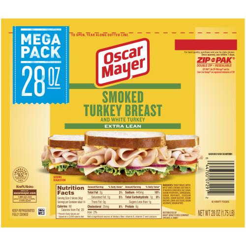 Oscar Mayer Smoked Turkey Breast, 28 oz